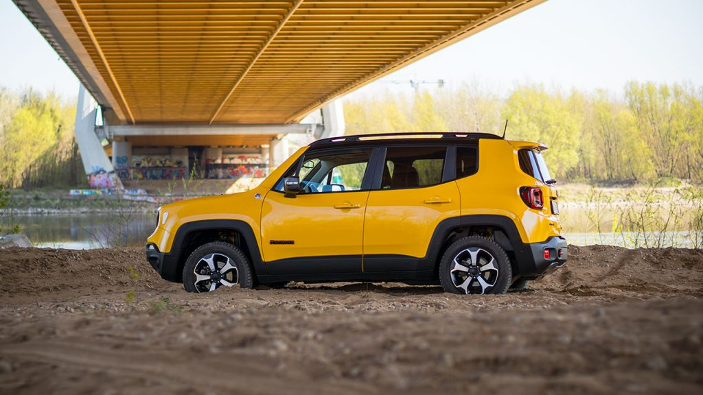 Jeep Renegade Trailhawk 2019 - piasek