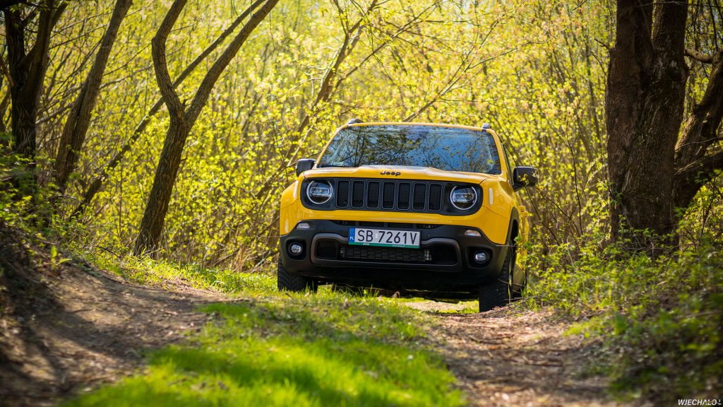 Jeep Renegade - tapeta - 01