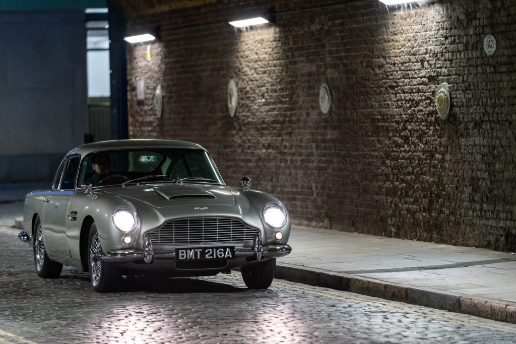 Aston Martin DB5 James Bond (1965) - Monterey 2019